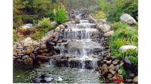 Small Picture Small garden ponds and waterfalls ideas YouTube