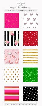 Craft A Doodle Doo Freebie Jubilee Kate Spade Inspired Digital