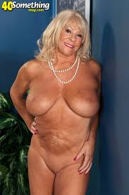 granny with huge boobs showing off
