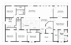 6 Bedroom Manufactured Home Floor Plans