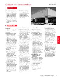 Exterior Soffit Board National Gypsum Pdf Catalogues
