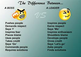 characteristics that separate a boss from a leader actuality feed 7 characteristics that separate a boss from a leader