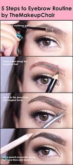 elf eyebrow kit tutorial. 5 steps to eyebrow routine  themakeupchair elf kit tutorial