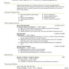 Sample Resume With Github Template Developer Resume Tips Github Summary Sample Web Templates 17