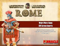 Savage Color Chart Pdf Weird Wars Rome Game Masters Screen Inserts Pdf