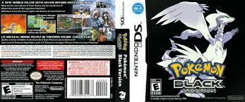 Pokemon Black Version | Nintendo DS Covers | Cover Century | Over 500.000  Album Art covers for free