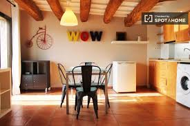 apartment 2 bedroom. fully renovated 2 bedroom apartment for rent with ac and balcony near las ramblas in barcelona