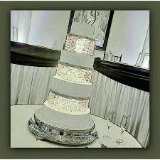 how to make chandelier cake stand wedding crystal acrylic cake stand or separator 4 tiers with