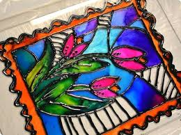 plastic stained glass sheets faux your panel is ready to hang or prop up in a plastic stained glass sheets