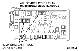 2007 ford theft mode and the car will not reconize my keys alarm 2007 Ford Edge Fuse Box remove all the mini fuses, relays and diodes (suggest taking a picture of the layout so install is easier) (figure 2) 2007 ford edge fuse box diagram