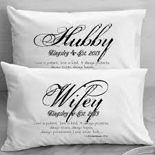 awesome pillow weddding anniversary gifts wedding anniversary gift ideas