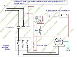 relay coil wiring diagram wiring diagram schematics baudetails how to wire contactor and overload relay contactor wiring diagram