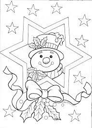 Sneeuwpop Kleurplaat Kerst Diy Kerst Ideeën Kerstmis