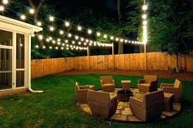 patio string lights patio ideas decorative outdoor backyard lighting decoration in light party