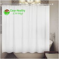 shower curtain shower environmentally friendly. Amazon.com: Premium PEVA Shower Liner / Curtain: Odorless \u0026 Mildew Resistant (with Magnets Suction Cups). Eco Friendly 70 X 71 In. Long - White Color: Curtain Environmentally