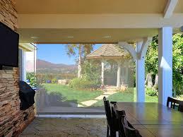 patio ds with custom valance mesh patio drop shades mesh patio drop shade