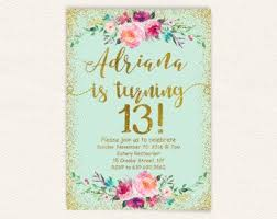 13th Party Invitations Pin On 15