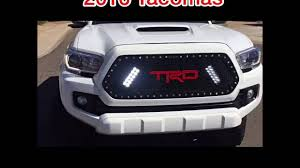 RaceMesh Trucks 2016 Toyota Tacoma LED Grille with TRD custom ...