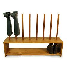 Shoe Rack Oak Wellington And Shoe Rack 4 Pair