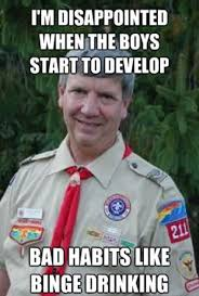 Harmless Scout Leader / Creepy Scoutmaster: Trending Images ... via Relatably.com