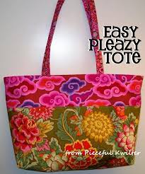 Free Tote Bag Patterns Delectable 48 Best Free Tote Patterns Tutorials Images On Pinterest Patchwork
