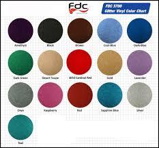 Fdc Color Chart Sticker Vinyl Glitter Colors Putitonatee