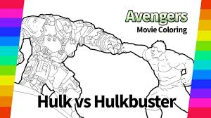 Only hulk knows how he ended up on sakaar, fighting in the arena. The Avengers Coloring Pages Hulk Vs Hulkbuster Movie Digital Drawing Youtube