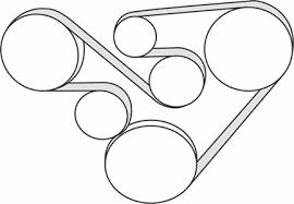2006 2007 subaru b9 tribeca h6 3 0l serpentine belt diagram a serpentine belt diagram for a 2006 2007 subaru b9 tribeca a h6 3 0l engine