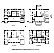 likeable english manor floor plan plans historic country house