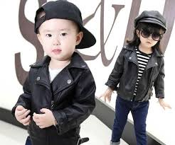 girls pu leather jacket boys coats autumn spring clothes 2017 children outerwear for clothing infant kids coat baby girl jackets boys waterproof coats child
