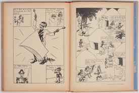Tintin Au Congo Casterman 1937 Achterflap A3 Blauwe