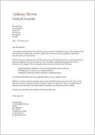 Free Sample Cover Letter For Medical Assistant