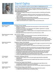 Consulting Resume Gorgeous Consulting Resume Samples From Real Professionals Who Got Hired