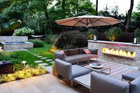 outdoor table lighting ideas. Cool Outdoor Lighting Ideas For Small Backyard With Modern Pool Table Furniture Design And Long P