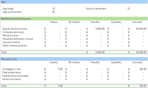 Budget Forms Sample Monthly Excel Spreadsheet Home Template Simple