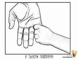 Cool Father Day Coloring Pages Fathers Day Free Holiday Coloring