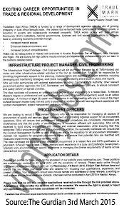 Infrastructure Project Manager Job Description Public Works