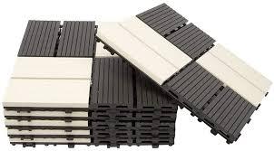 diy interlocking decking tiles floor