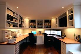 Interior and Exterior:Office Design Two Person Home Office Two Person Desk Home  Office 2