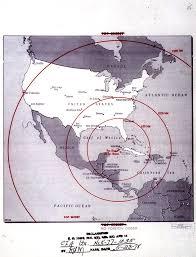 n missile crisis map of missile range john f kennedy   n missile crisis map of missile range