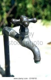 outdoor water spigot tap stock image replacement parts key part home depot extender lock faucet outdoor water spigot