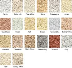 Weber Monocouche Colour Chart Wall Coating Colours Weber Render Colours K Rend Render