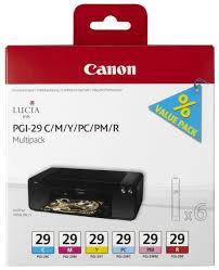 <b>Набор картриджей Canon PGI-29</b> C/M/Y/PC/PM/R Multipack ...