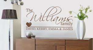 outstanding aliexpress buy personalized family name wall sticker home regarding family name wall art ordinary  on personalised family name wall art with impressive wall art designs family wall art home ideas family wall