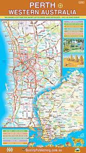Perth Wa Large Road Map By Qpa
