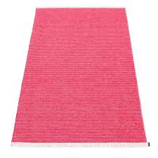 pink runner rug mono cherry navy dusty area mute handmade