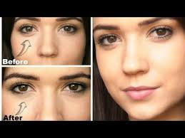 under eye bags makeup tips for fair skin how to cover applying