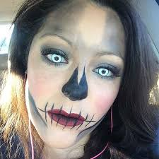 scary skull makeup for easy makeup ideas