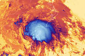 Tropical Storm Elsa Captured From Space