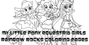 My Little Pony Twilight Sparkle Coloring Pages My Little Pony Girls